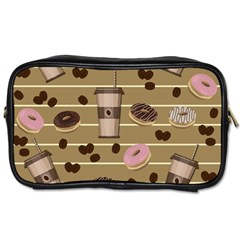Coffee And Donuts  Toiletries Bags