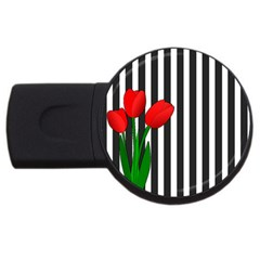 Tulips USB Flash Drive Round (2 GB)