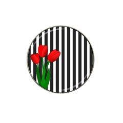 Tulips Hat Clip Ball Marker (4 pack)