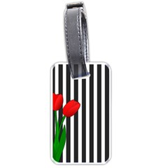 Tulips Luggage Tags (One Side)