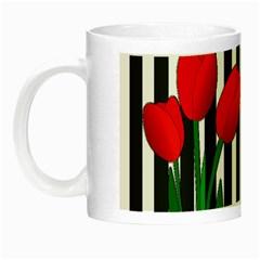 Tulips Night Luminous Mugs