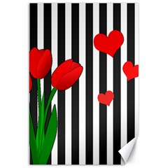 Tulips Canvas 20  X 30