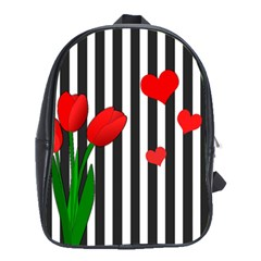 Tulips School Bags(Large)