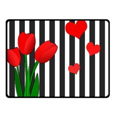 Tulips Fleece Blanket (Small)