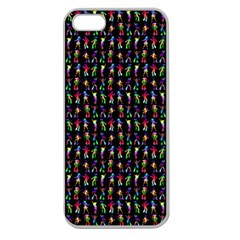 Groovy Chicks Apple Seamless Iphone 5 Case (clear)