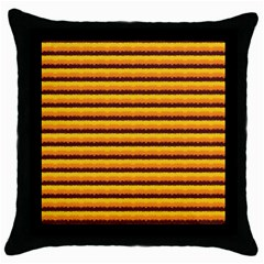 Hot Totty Throw Pillow Case (black)