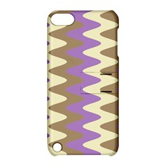 Nougat Ripple Apple Ipod Touch 5 Hardshell Case With Stand