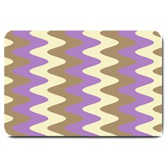 Nougat Ripple Large Doormat