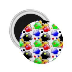 Pattern Background Wallpaper Design 2.25  Magnets