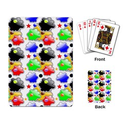 Pattern Background Wallpaper Design Playing Card