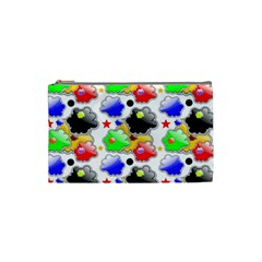 Pattern Background Wallpaper Design Cosmetic Bag (small)