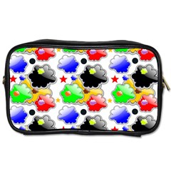 Pattern Background Wallpaper Design Toiletries Bags