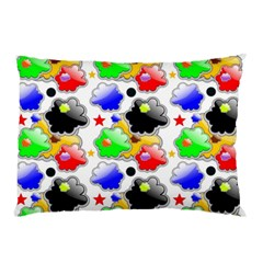 Pattern Background Wallpaper Design Pillow Case (Two Sides)