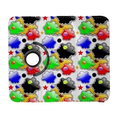 Pattern Background Wallpaper Design Galaxy S3 (flip/folio)