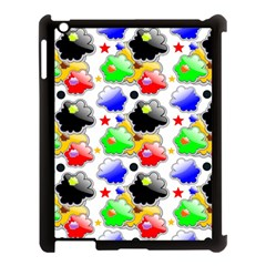 Pattern Background Wallpaper Design Apple Ipad 3/4 Case (black)