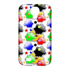 Pattern Background Wallpaper Design Samsung Galaxy S4 Classic Hardshell Case (pc+silicone)
