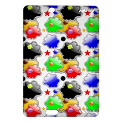 Pattern Background Wallpaper Design Amazon Kindle Fire HD (2013) Hardshell Case