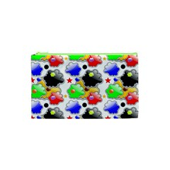 Pattern Background Wallpaper Design Cosmetic Bag (xs)