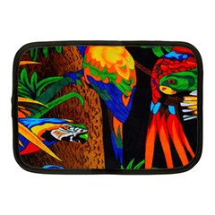 Parrots Aras Lori Parakeet Birds Netbook Case (medium)