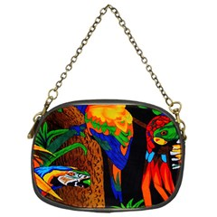Parrots Aras Lori Parakeet Birds Chain Purses (one Side)
