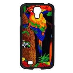 Parrots Aras Lori Parakeet Birds Samsung Galaxy S4 I9500/ I9505 Case (black)
