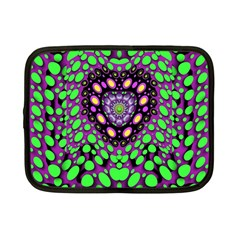 Dots And Very Hearty Netbook Case (small)