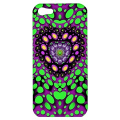 Dots And Very Hearty Apple Iphone 5 Hardshell Case