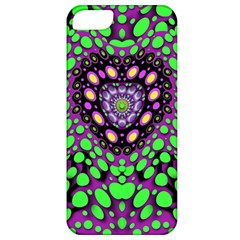 Dots And Very Hearty Apple Iphone 5 Classic Hardshell Case