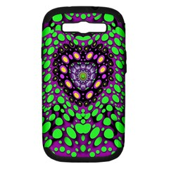 Dots And Very Hearty Samsung Galaxy S Iii Hardshell Case (pc+silicone)