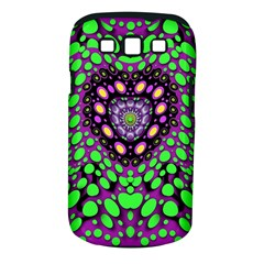 Dots And Very Hearty Samsung Galaxy S Iii Classic Hardshell Case (pc+silicone)