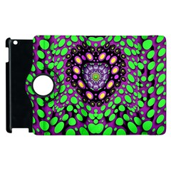Dots And Very Hearty Apple Ipad 3/4 Flip 360 Case