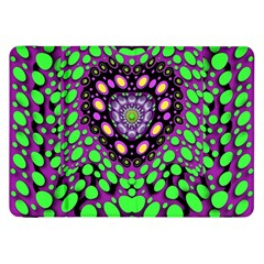 Dots And Very Hearty Samsung Galaxy Tab 8 9  P7300 Flip Case