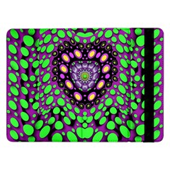 Dots And Very Hearty Samsung Galaxy Tab Pro 12 2  Flip Case