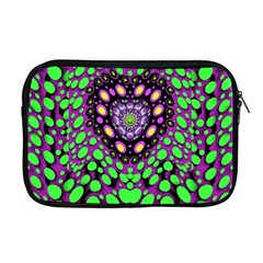 Dots And Very Hearty Apple Macbook Pro 17  Zipper Case