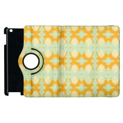 Sun Burst Apple Ipad 2 Flip 360 Case