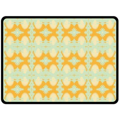 Sun Burst Double Sided Fleece Blanket (large)