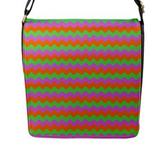 Tropical Dream State Flap Messenger Bag (l)