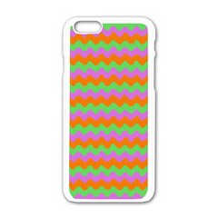 Tropical Dream State Apple Iphone 6/6s White Enamel Case