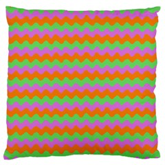 Tropical Dream State Large Flano Cushion Case (two Sides)