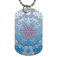Pattern Background Pattern Tile Dog Tag (two Sides)