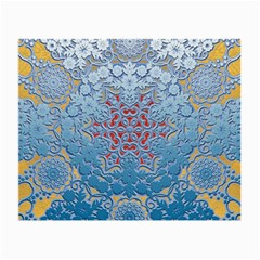 Pattern Background Pattern Tile Small Glasses Cloth (2-Side)