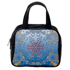 Pattern Background Pattern Tile Classic Handbags (One Side)