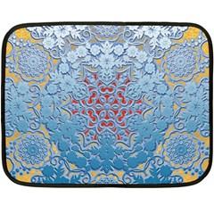Pattern Background Pattern Tile Fleece Blanket (Mini)