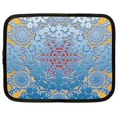 Pattern Background Pattern Tile Netbook Case (XL)