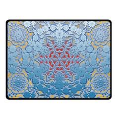 Pattern Background Pattern Tile Fleece Blanket (Small)