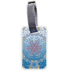 Pattern Background Pattern Tile Luggage Tags (Two Sides)