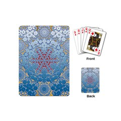 Pattern Background Pattern Tile Playing Cards (Mini)