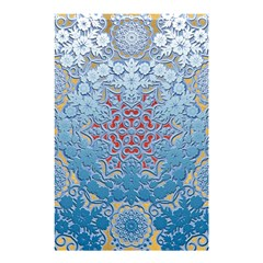 Pattern Background Pattern Tile Shower Curtain 48  x 72  (Small)