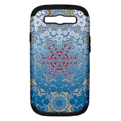 Pattern Background Pattern Tile Samsung Galaxy S Iii Hardshell Case (pc+silicone)