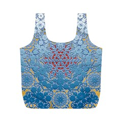 Pattern Background Pattern Tile Full Print Recycle Bags (m)